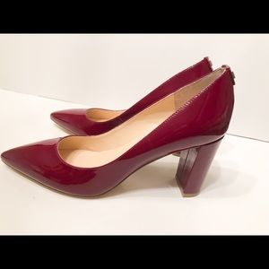 Ivanka Trump Itlysa Pumps Heels Shoes Red  Size 9